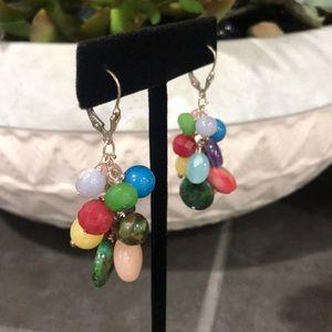 Jewelry - Multi colored bead Earrings